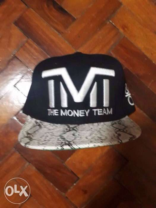 tmt floyd mayweather cap BRAND NEW the money team hat boxing in ... 2295f9fb39c4