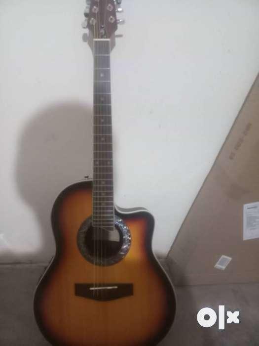 Harley Benton Guitar - Semi electric- Acoustic - Musical Instruments