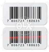 Barcode Labels Sticker Fasson Labels in whole sale Rate