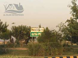 Block-P 30*60 reasonable price plot for sell Gulberg Residencia greens