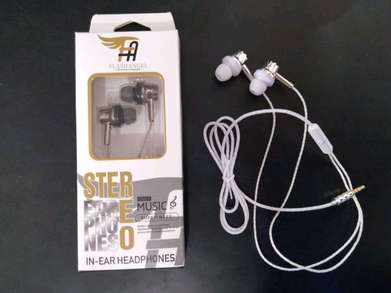 Headset flash angel stereo/ handsfree kabel bagus boss