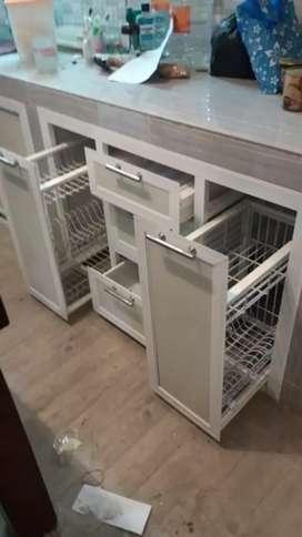 Kitchen Set Aluminium Dijual Mebel Murah Di Indonesia Olx Co Id