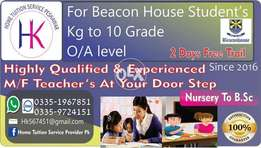 Gulberg cantt Home Tuition Tutors