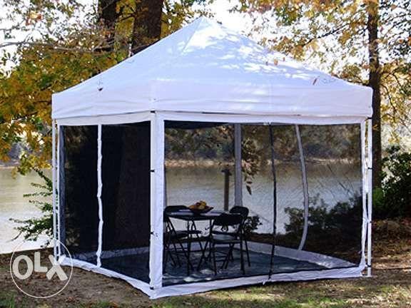 tent canopy screen gazebo USA wd waterproof all steel frame & tent canopy screen gazebo USA wd waterproof all steel frame in ...