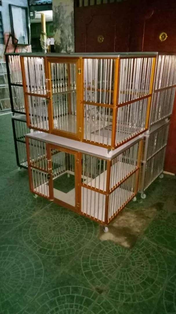 Kandang Kucing Anggora Alumunium Hewan Peliharaan 765922457
