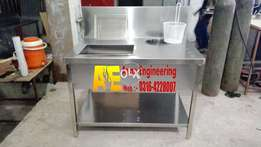 ad# 13 new S.S breading table by Azan eng
