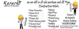 Deals in Renovation / Construction