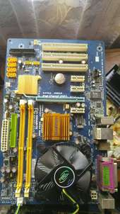 motherboard 1 set core 2 duo