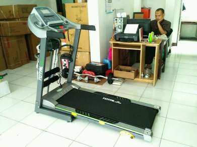 Treadmill elektrik 3 fungsi TL288 manual incline - Bandung gratis ongk