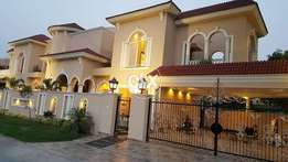 One Kanal Ground Portion For rent in phase 4 Bahria Town Rwp