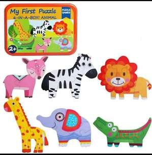 Mainan Edukasi Puzzle 3D Animal IMPORT