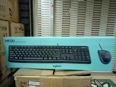 Logitech MK120 Keyboard Mouse USB | Murah | By Astikom