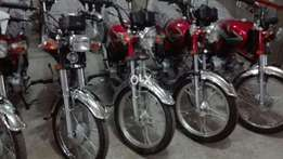 Self Start 70 cc bikes Ghani new model now available