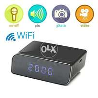 1080P Wifi Hidden Table Clock Camera Wireless home delivery