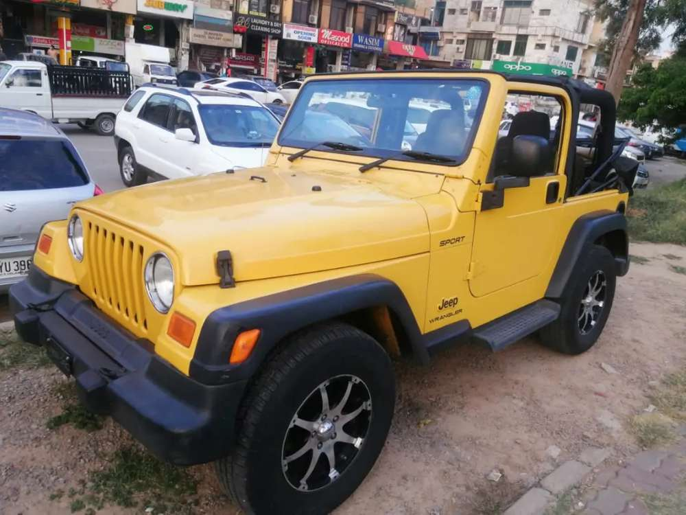 Jeep Vehicles For Sale In Islamabad Capital Territory Olx Com Pk