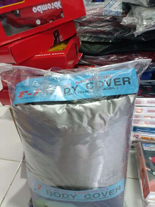 body cover selimut sarung mobil all new yaris bahan polyster