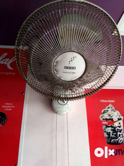 Usha wall fan for sell 2 fans at best price - Modasa - Electronics ...
