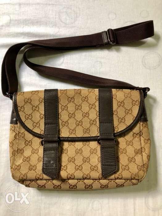 45e7782faea Authentic Gucci messenger bag sling bag not lv louis vuitton prada mk ...