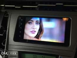 Toyota prius android navigation with full 1080 HD
