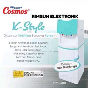 Dispenser tinggi Cosmos 3 kran (Panas, Normal, & Dingin)