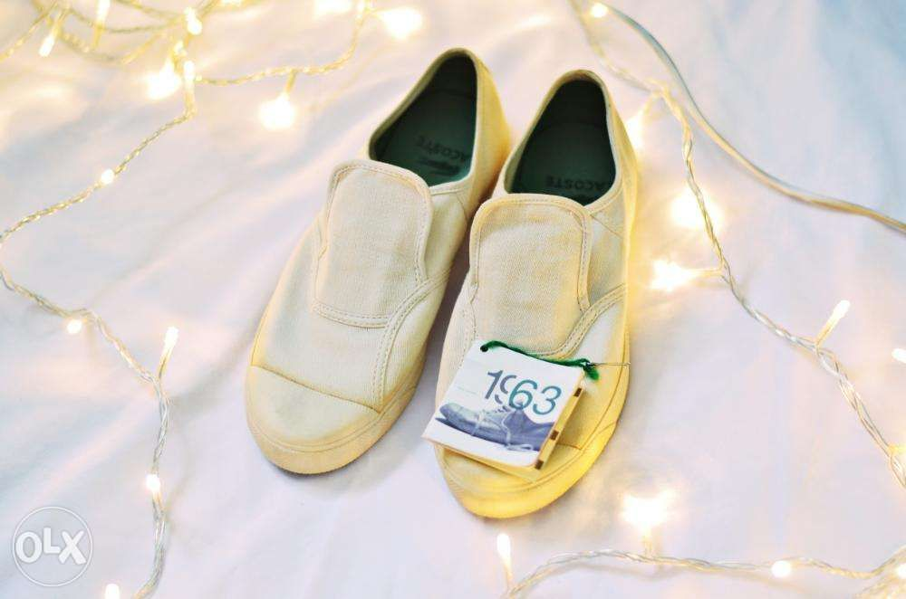 e16234001 Authentic Lacoste Slip on Shoes coach prada louis vuitton sperry gucci ...