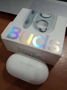 Samsung Galaxy Buds Putih Bluetooth LIKE NEW!!!