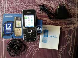 Nokia c2 01 orignal purchase UAE condition 10/10 complate accessories