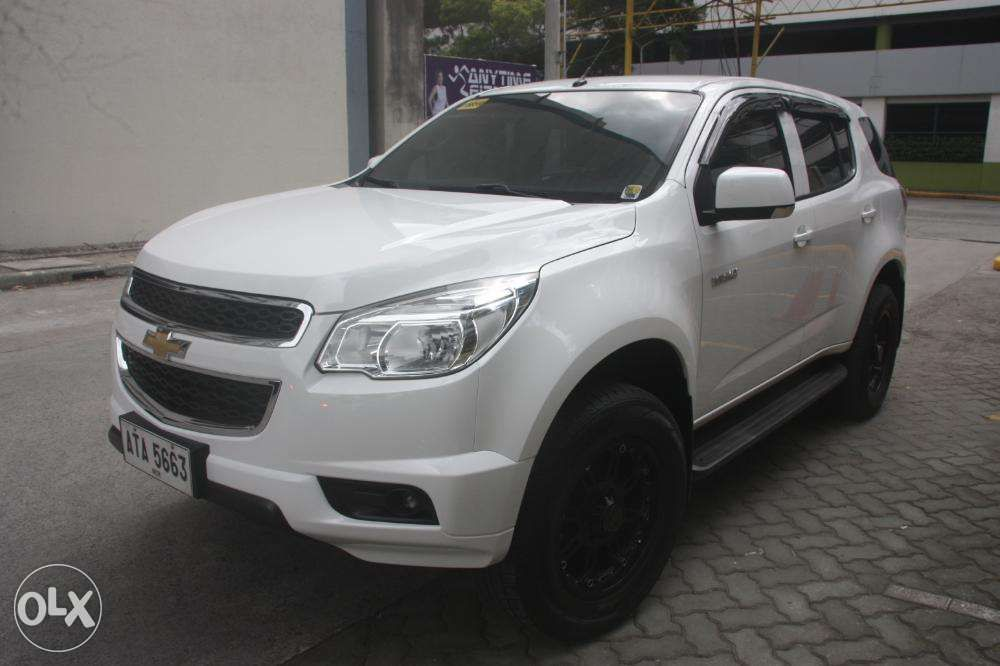 Chevrolet Trailblazer Lt Limitted Edition 2015 In Manila Metro