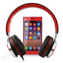 Ms200 Stereo Headsets Strong Low Bass Adjustable Headphones