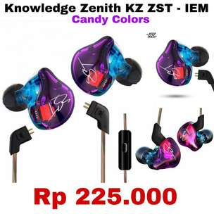 READY STOK - Headset Knowledge Zenith Candy ZST - Best Seller