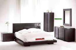 Bed with Side Table لوٹ سیل بہترین کوالٹئ khawaja's Fix price