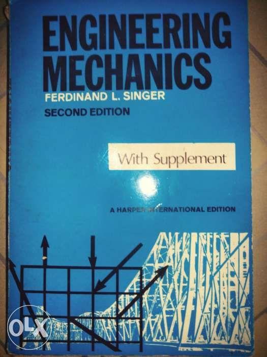 full version engineering mechanics 2nd edition by ferdinand singer