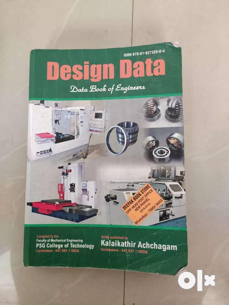 Data mechanical book design hand
