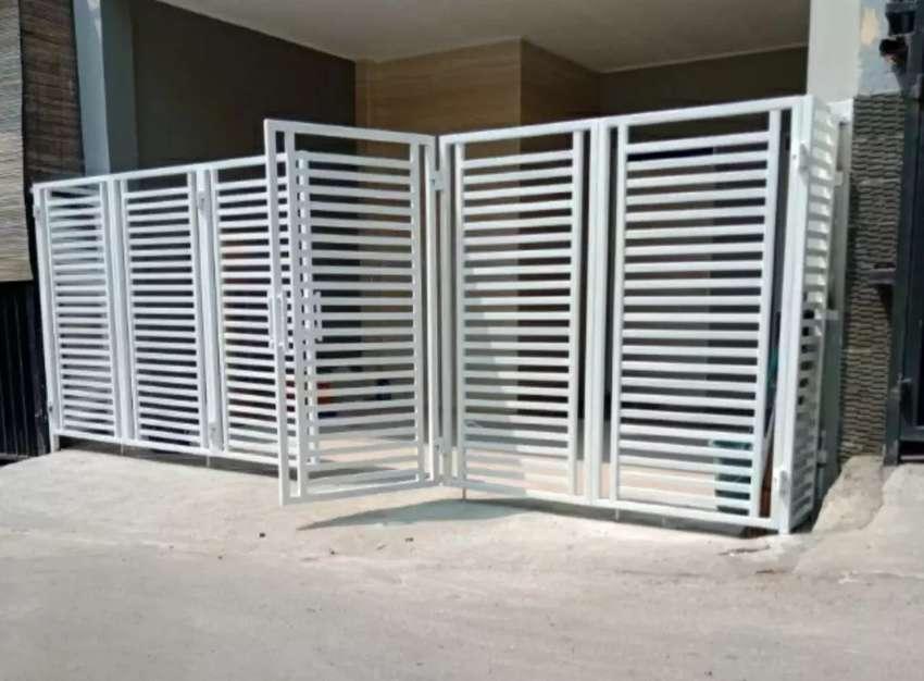 Pagar Lipat Minimalis - Konstruksi Dan Taman - 773005649