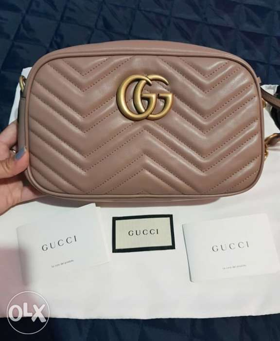 a5cca10bed6bc6 Brandnew Authentic Gucci Marmont Small Camera Bag in Cagayan De Oro ...