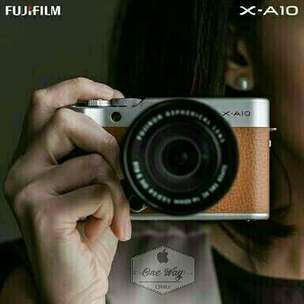 Fuji X-A10 Mirrorless WiFi Kredit Dp 700rb-an 15mnt acc Free 1xcicilan