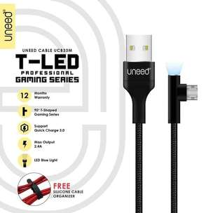 Uneed Kabel Data Type Micro Fast Charging - Ucb33M - FT1436H