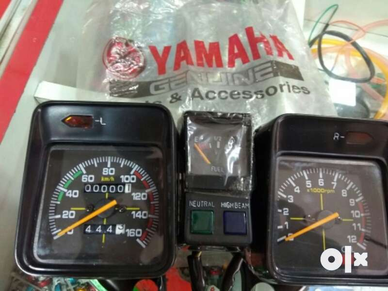 Yamaha Rx king meter embly With harness wiring - Spare ... on