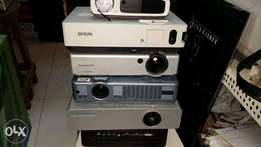 epson and panasonic projectors available