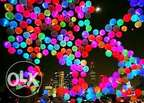 50 LED Balloons Pack For Weddings & Birthday Parties