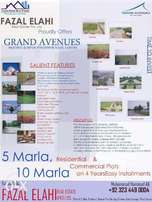 Book your Plot on Easy Installments in Grand Avenues Housing Scheme