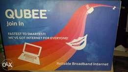 Qubee reliable Internet connection