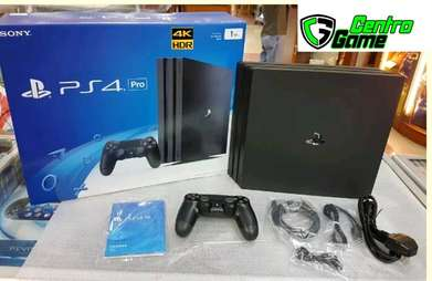 PS4 PRO Original 4K HDR 1TB Fullset + Free Kaos PS4