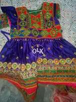 Pathani frock at sale price 3 pc complete