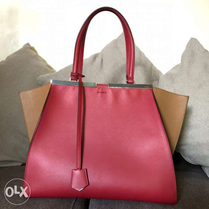 e7bbb034a525 Authentic Fendi 3 Jours Tricolor Tote in Pasig