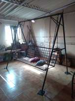 Wrought iron swing withou... for sale  Delhi