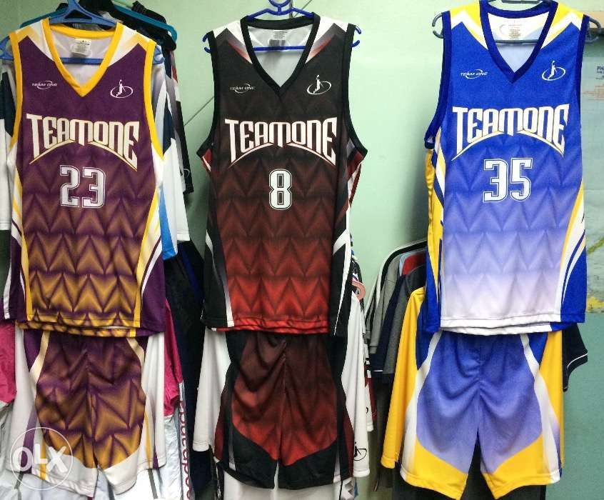 64be753149a TEAM ONE Customized SUBLIMATION Basketball Jersey Shorts Uniform in ...