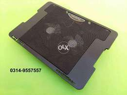 Imported SAIGAL Dual Fan Laptop Cooling Pad Double Fan Playstation