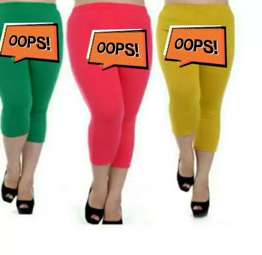 Celana Legging Jumbo 3 4 Fashion Wanita 752827299