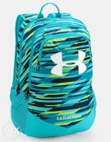 9a9c5bfe1bd8 AUTHENTIC Under Armour UA Youth Storm Scrimmage Backpack Venetian Blue